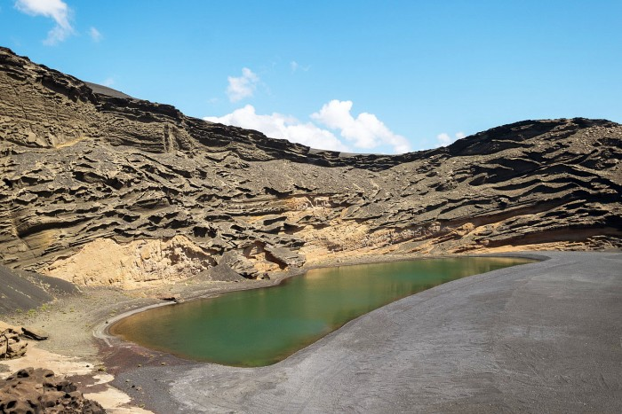El Lago Verde, Lanzarote, Canary Islands