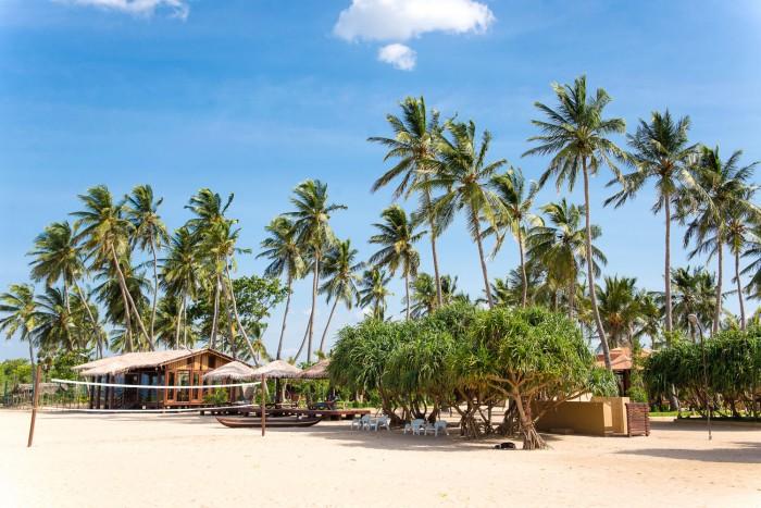 Nilaveli beach in Sri Lanka