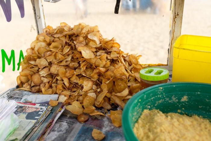 Tapioca Chips Negombo Sri Lanka-1
