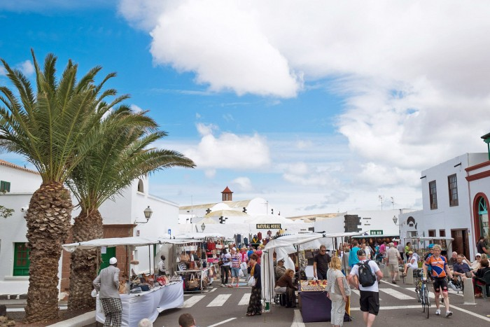 Teguise Market in Lanzarote