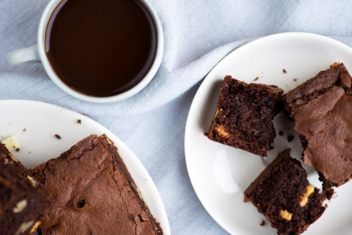 Double Chocolate Brownies with Vita Coco Coconut Oil