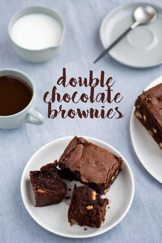Dark Chocolate Brownies with Vita Coco Coconut Oil