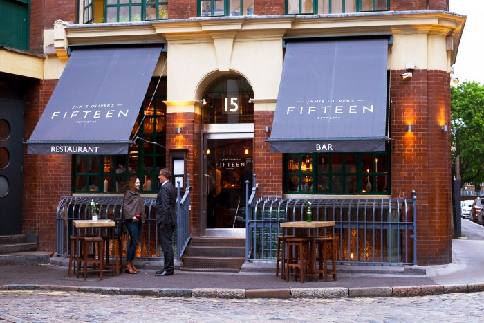 Fifteen Restaurant Old Street