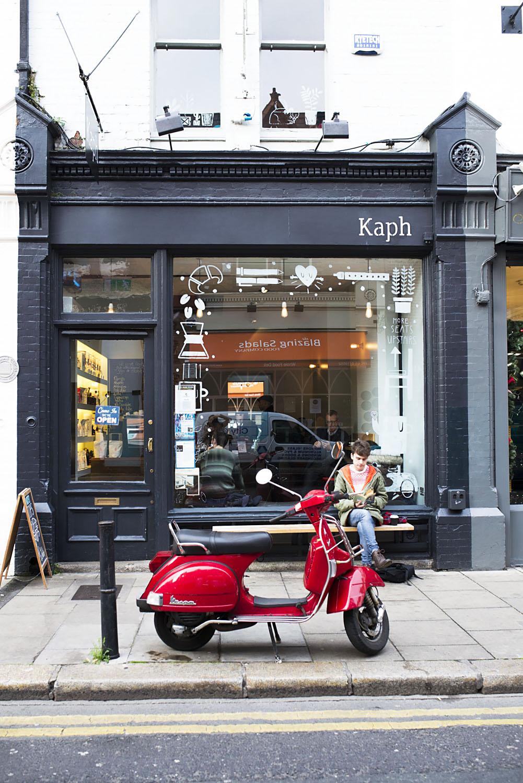 Kaph coffee shop in Dublin