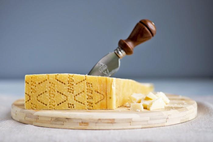 Grana Padano cheese Vinaigrette