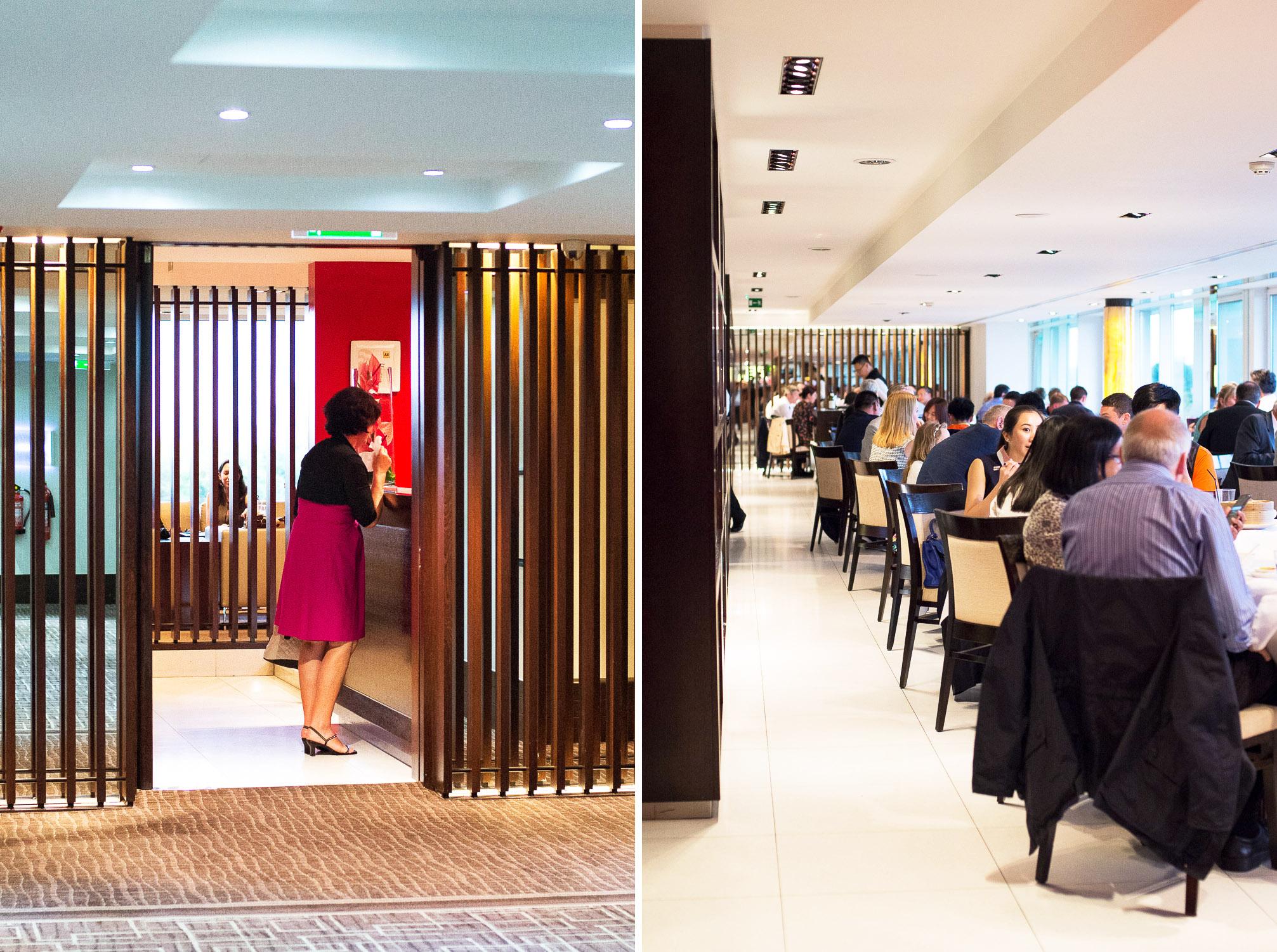 Min Jiang at Royal Garden Hotel, Kensington