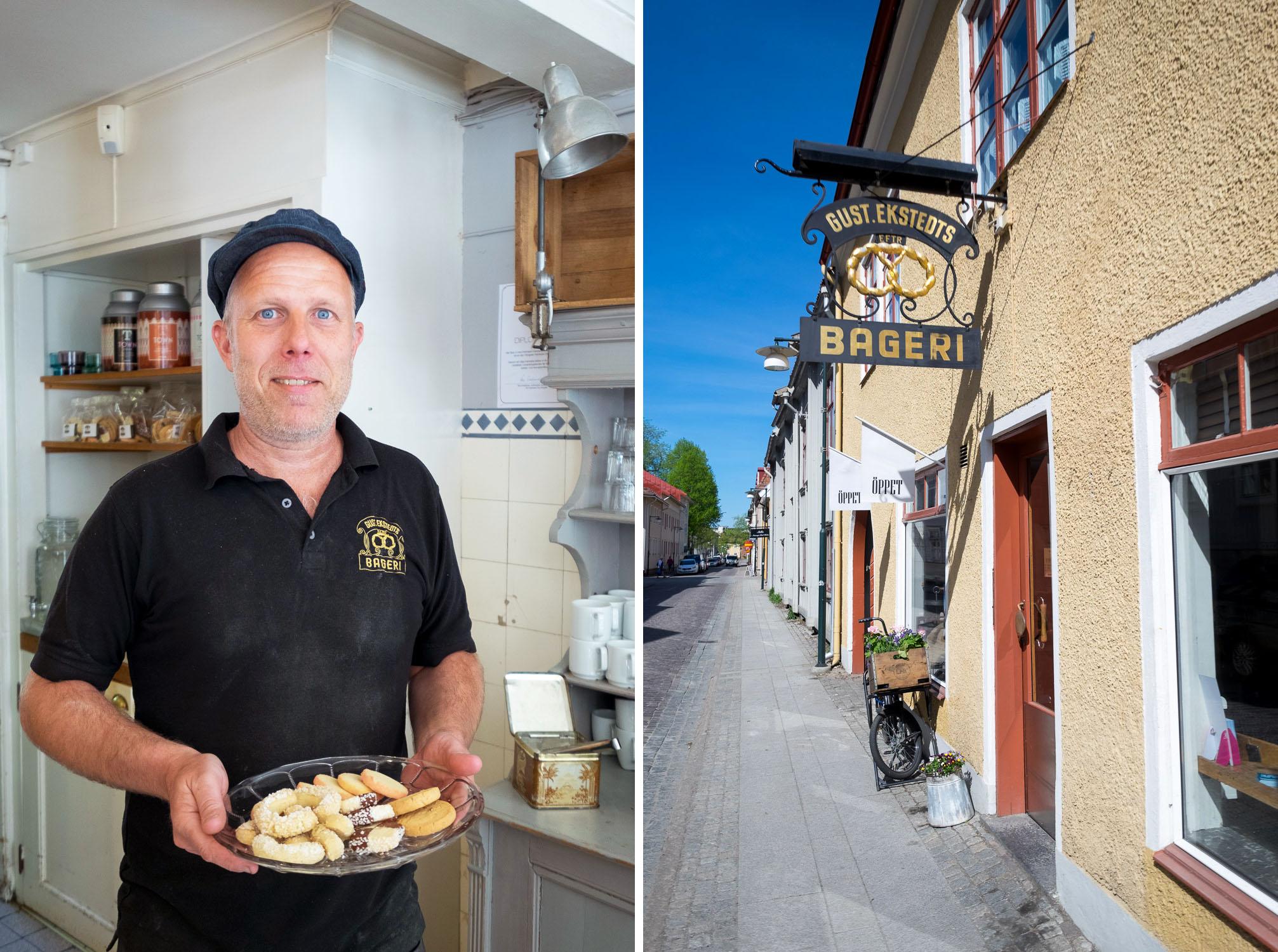 Fika tour in Alingsas, West Sweden