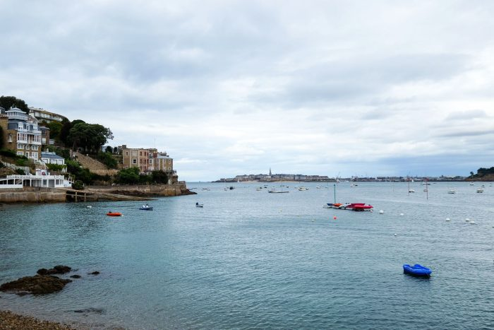 Rance river in Dinard in Brittany