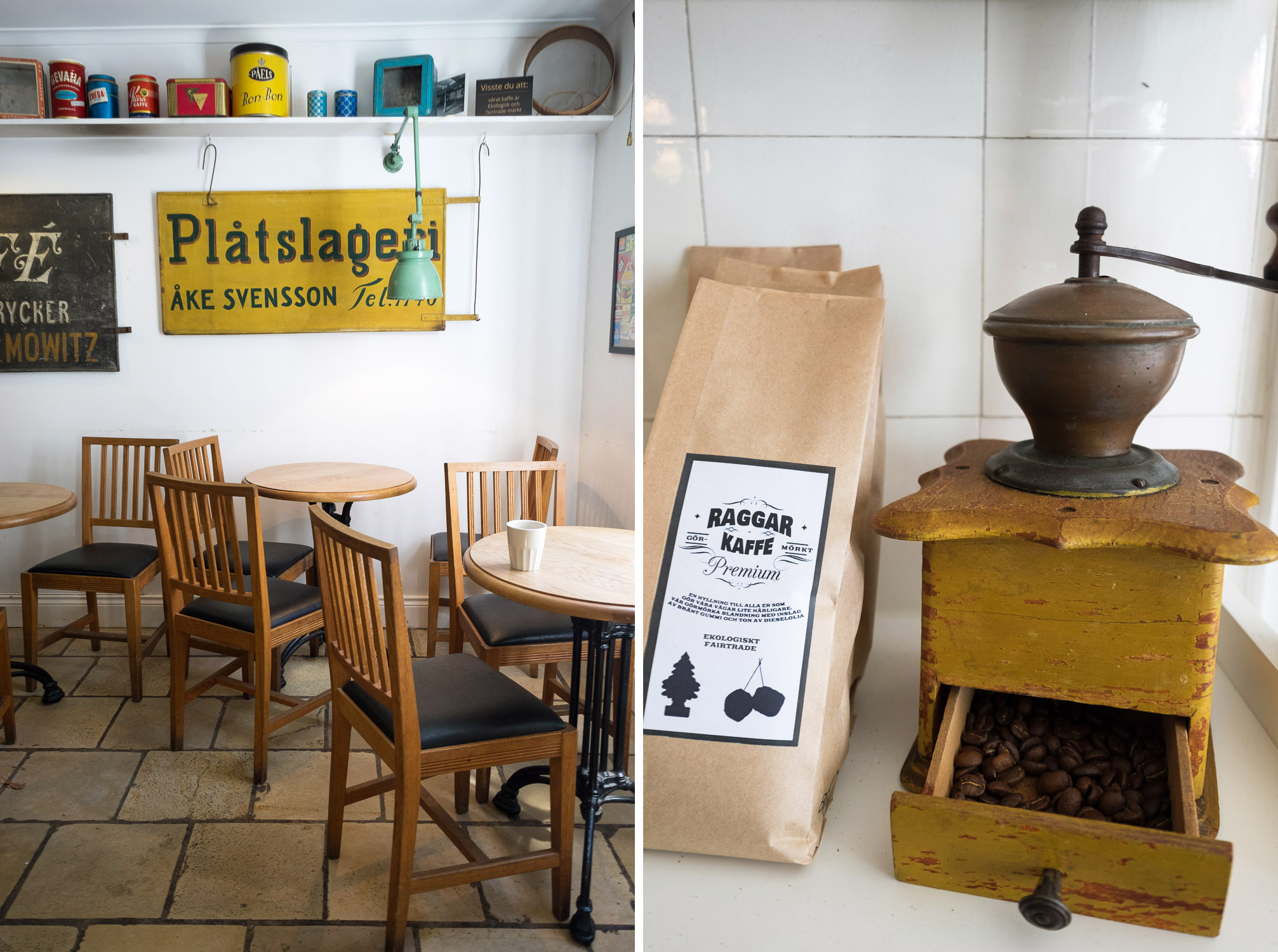 Fika tour in Alingsas, West Sweden