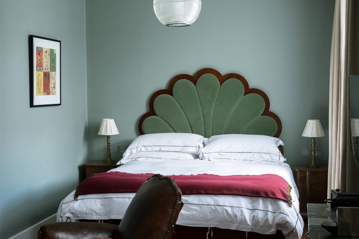A bedroom at the Artist Residence in Pimlico, London