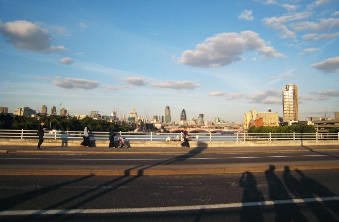 London Southbank River Thames