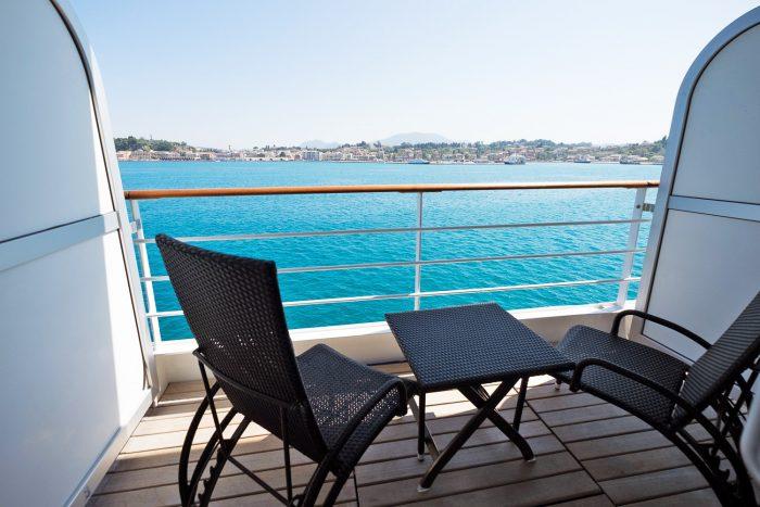 Veranda Suite on Silver Spirit Luxury Cruise with Silversea