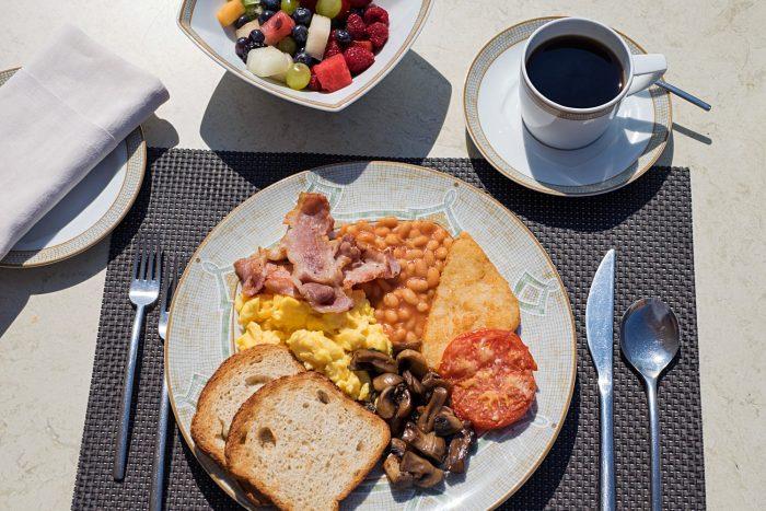Breakfast on Silver Spirit Luxury Cruise with Silversea
