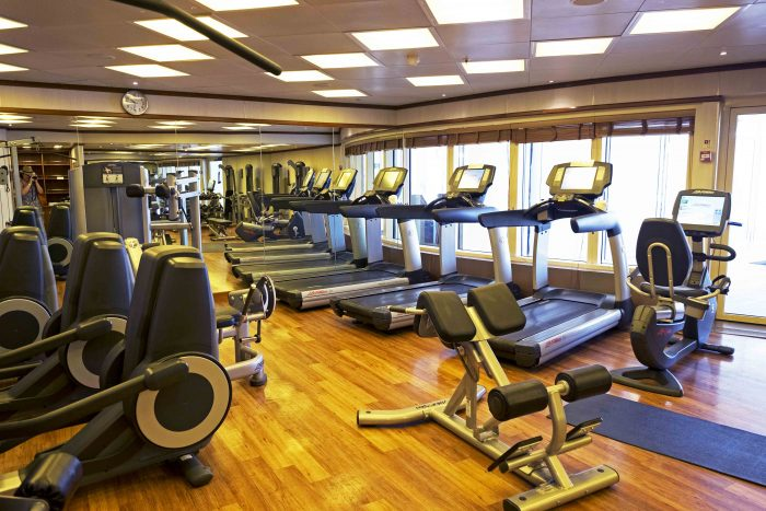 Fitness Centre on Silver Spirit Luxury Cruise with Silversea