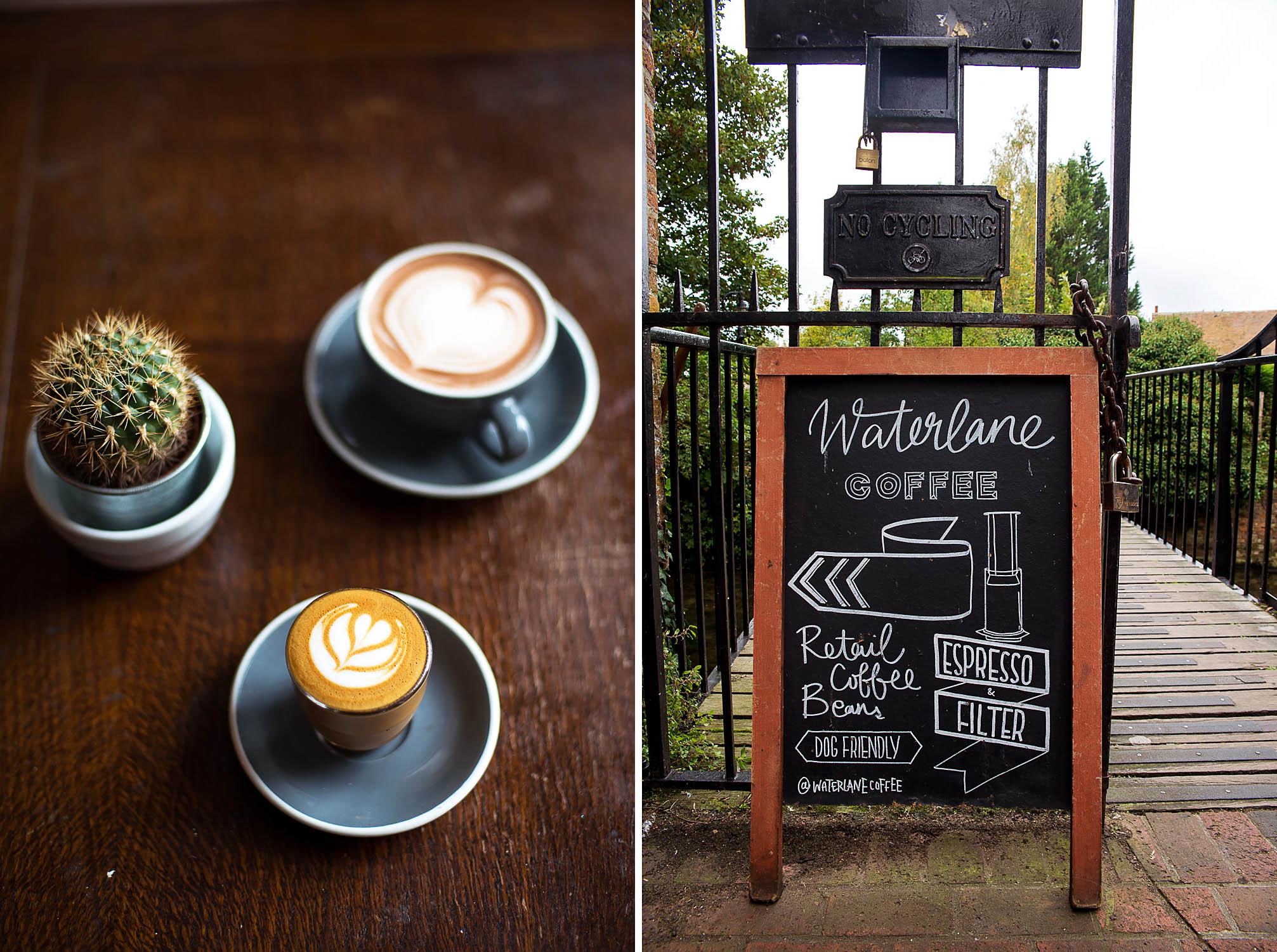 Water Lane Coffeehouse, Canterbury Kent