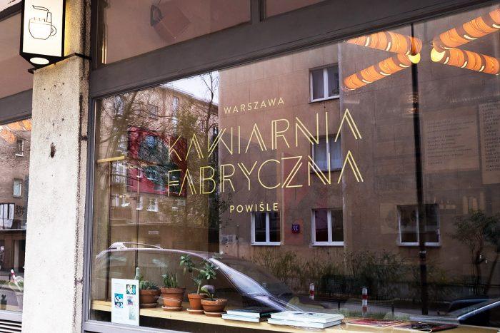 Fabryczna Kawarnia coffee shop in Warsaw, Poland