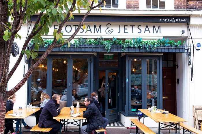 Flotsam & Jetsam Coffee shop in Wandsworth Common London