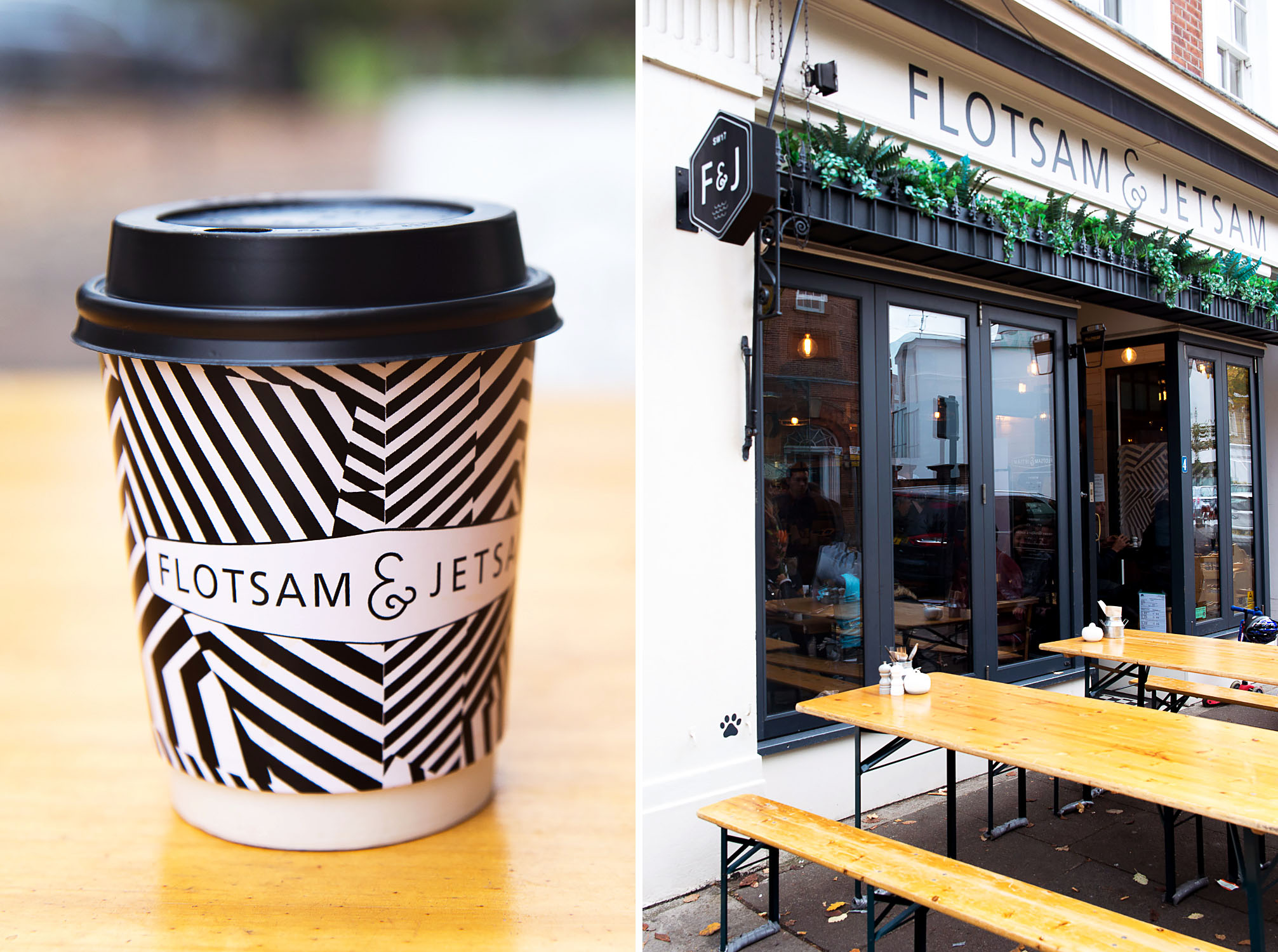 Flotsam and Jetsam Coffee Shop in Wandsworth Common