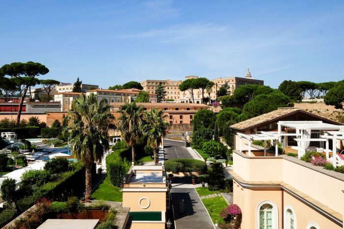 Luxury hotel gran melia villa agrippina in the heart of rome for Rome gran melia hotel