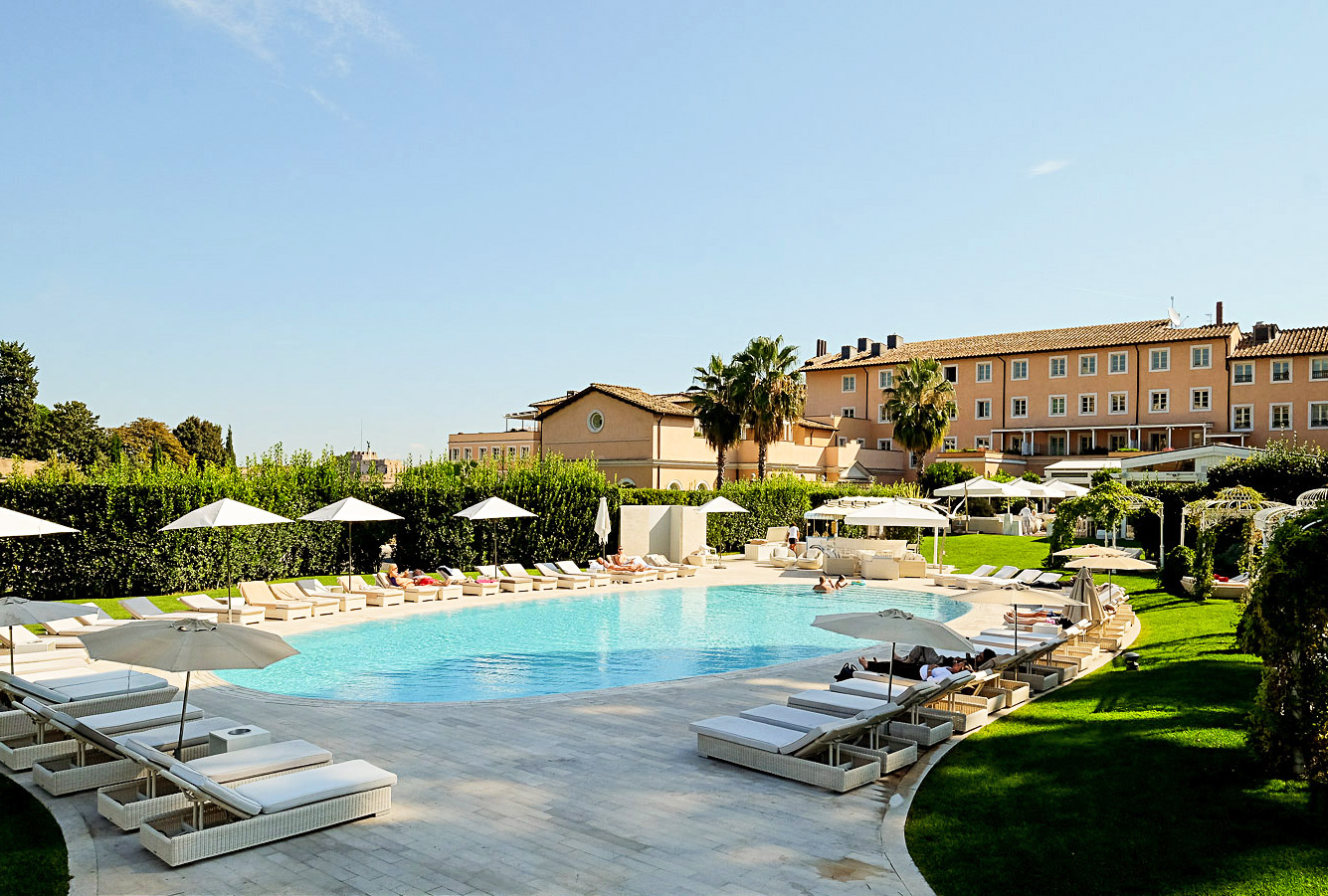 Luxury hotel gran melia villa agrippina in the heart of rome for Hotel gran melia villa agrippina rome