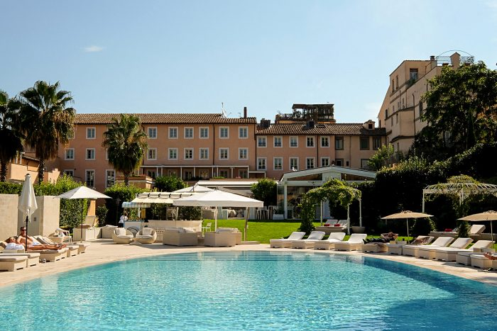 Luxury Stay at Gran Melia Rome Villa Agrippina