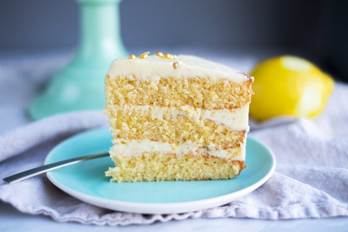 Chocolate Sponge Cake Recipe Jamie Oliver: Lemon Cake With Rosemary Buttercream Frosting