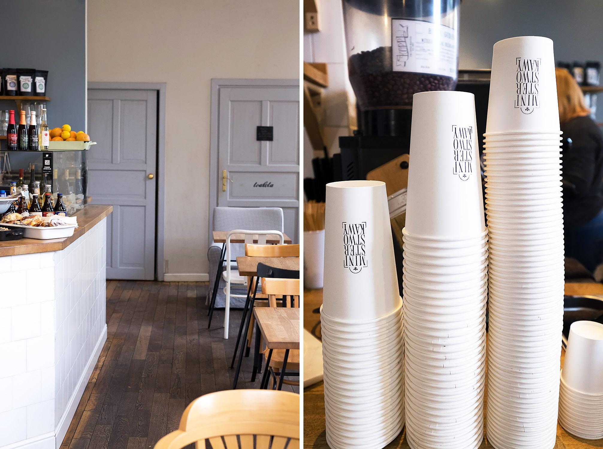 Ministerstwo Kawy coffee shop in Warsaw, Poland