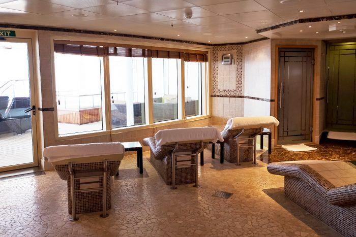 The Spa on Silver Spirit - Silversea Luxury Cruise