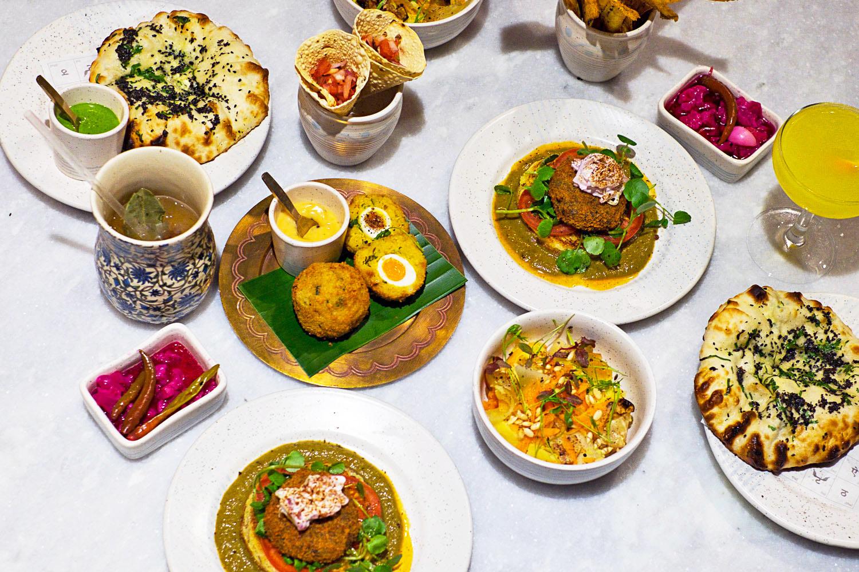 Fine dining at the frog e1 in spitalfields mondomulia for Agra fine indian cuisine menu