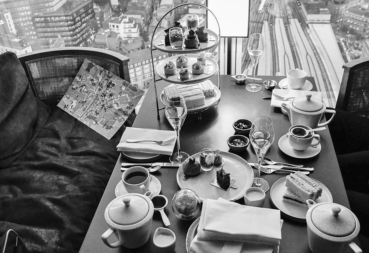 Afternoon Tea at Oblix at The Shard