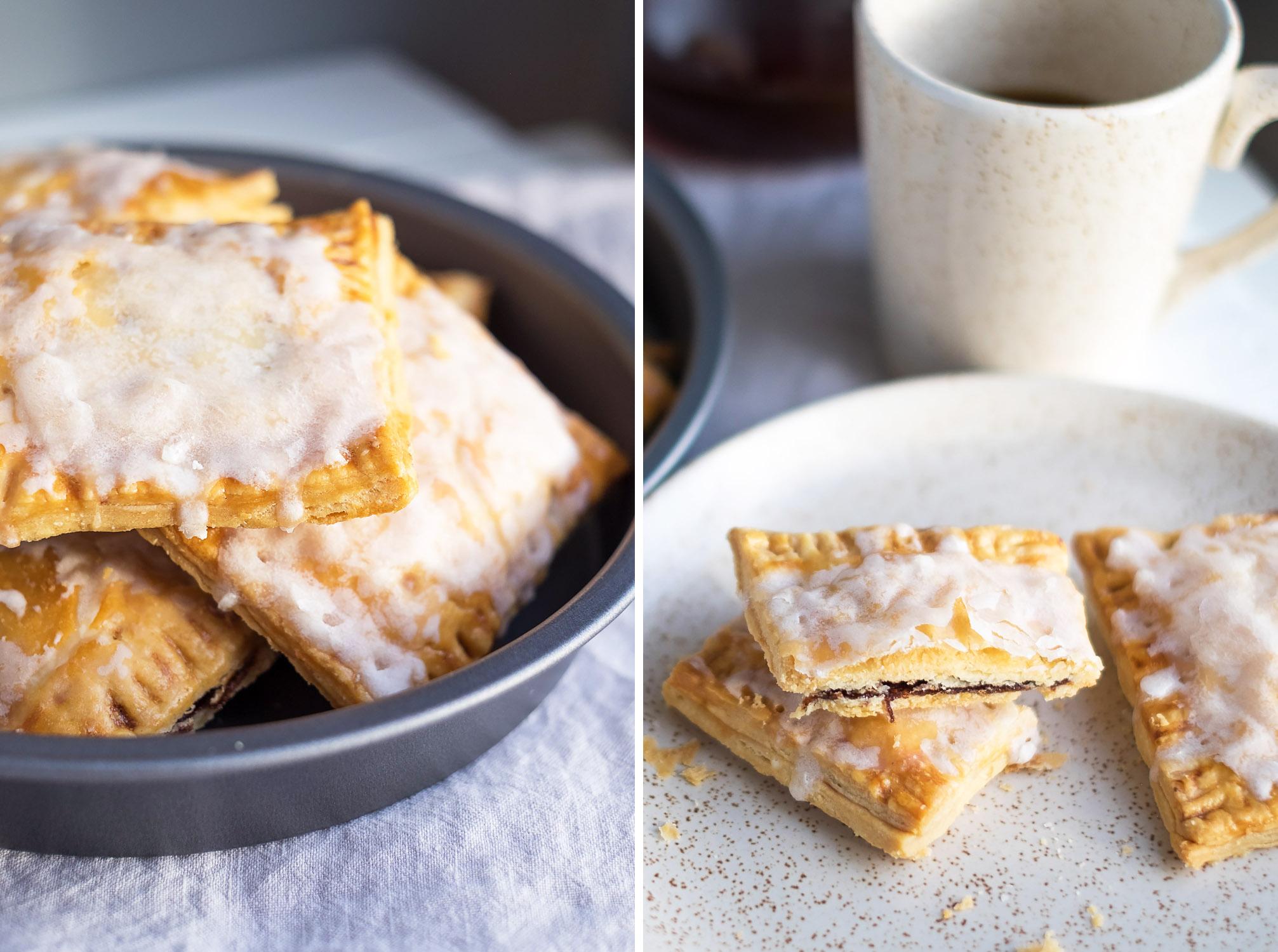 Homemade Brown Sugar Cinnamon Pop Tarts