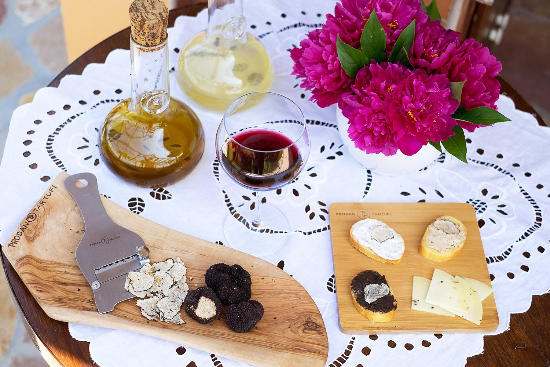 Truffle tasting in Istria Croatia