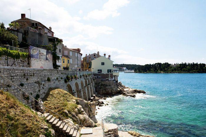 The town of Rovijn in Istria, Croatia