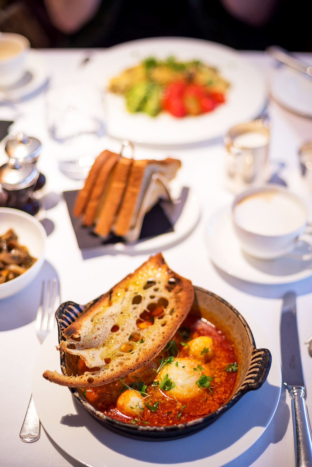 Start your day the Italian way with a delicious breakfast at Sartoria in Mayfair, London