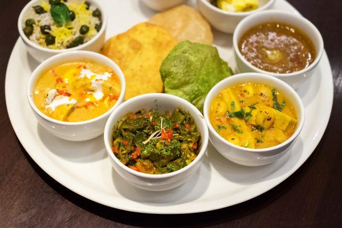 Fine Dining at Mughal Pavillion restaurant, ITC Mughal Hotel Agra