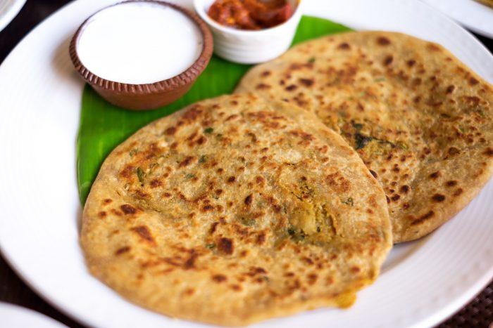 Breakfast at Mughal Pavillion restaurant, ITC Mughal Hotel Agra