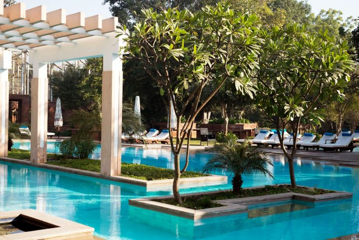 My Luxury Stay at Starwood Luxury Collection ITC Mughal Hotel in Agra India