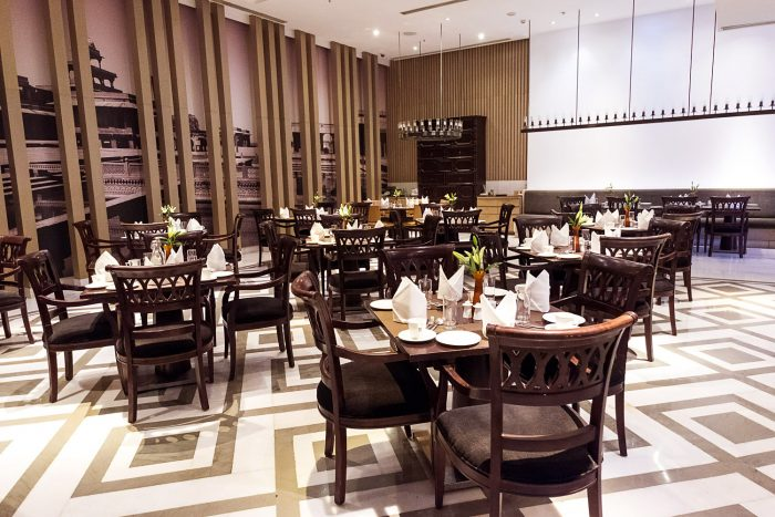 Fine Dining at Mughal Pavillion restaurant, ITC Mughal Hotel Agra