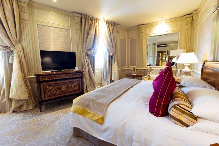 Classic Room at Five Star Hotel Principe di Savoia, Dorchester Collection, Milan