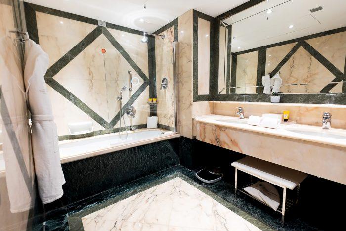 Classic Rooms at Five Star Hotel Principe di Savoia, Dorchester Collection, Milan