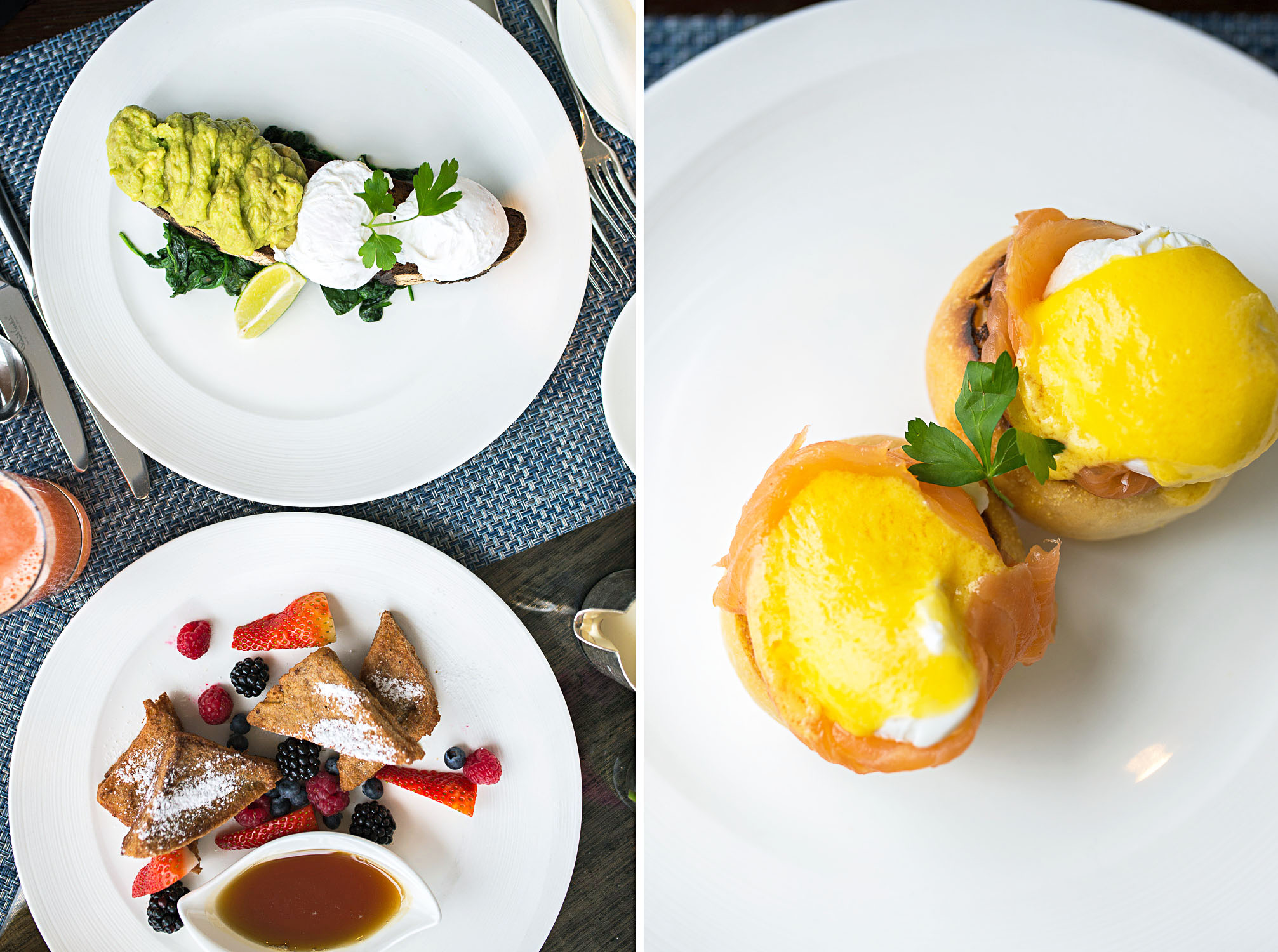 A la carte breakfast at Shangri-La Hotel at The Shard London