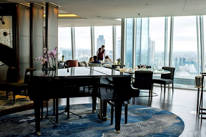 Breakfast at Shangri-La Hotel at The Shard London