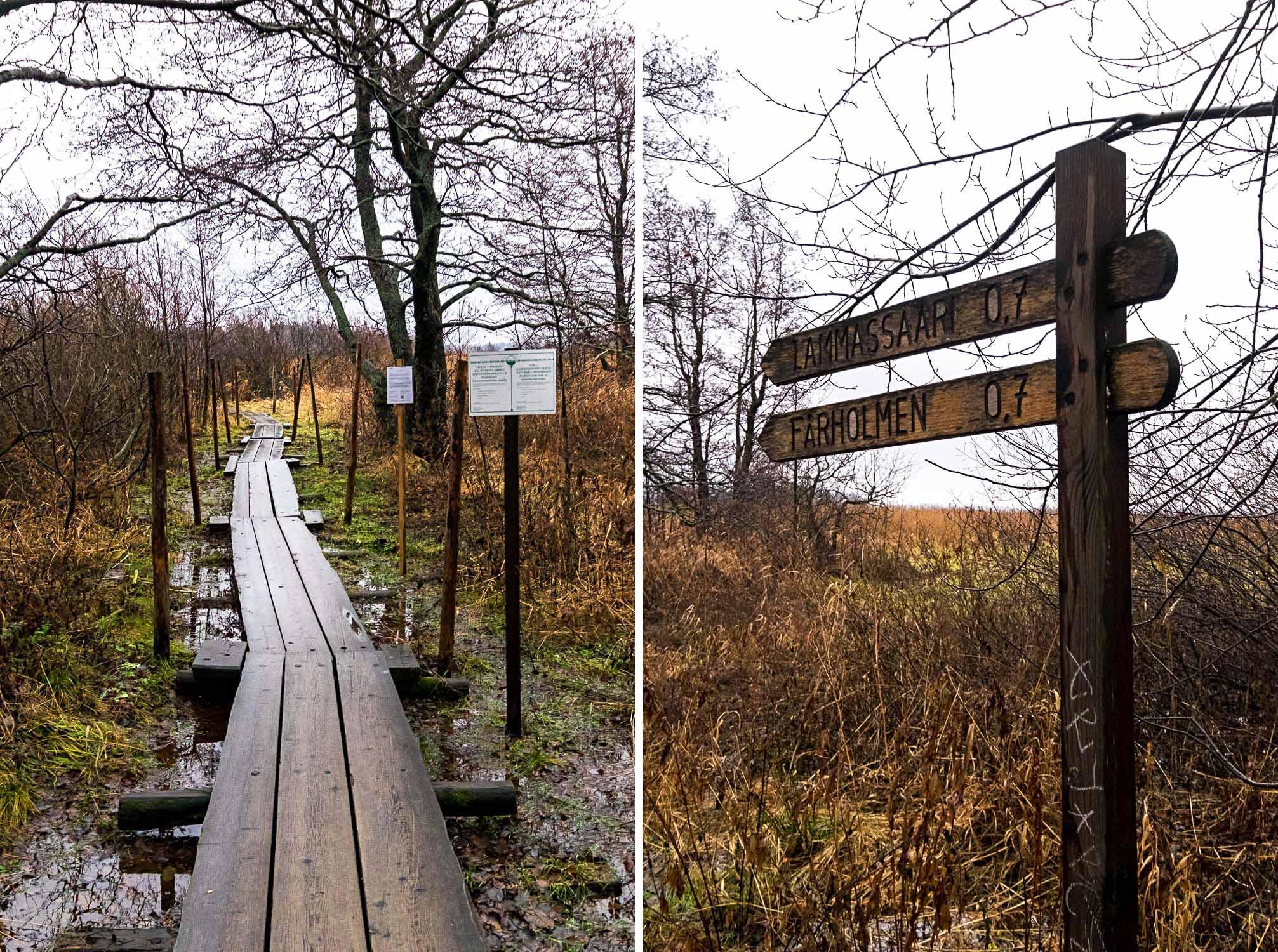 Nuuksio National Park in Helsinki, Finland