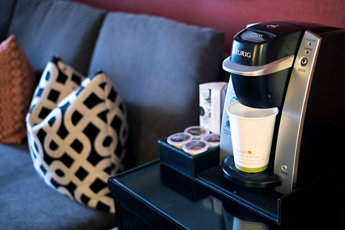 Keurig coffee machine - A Boutique Stay at Kimpton Monaco Hotel in Seattle