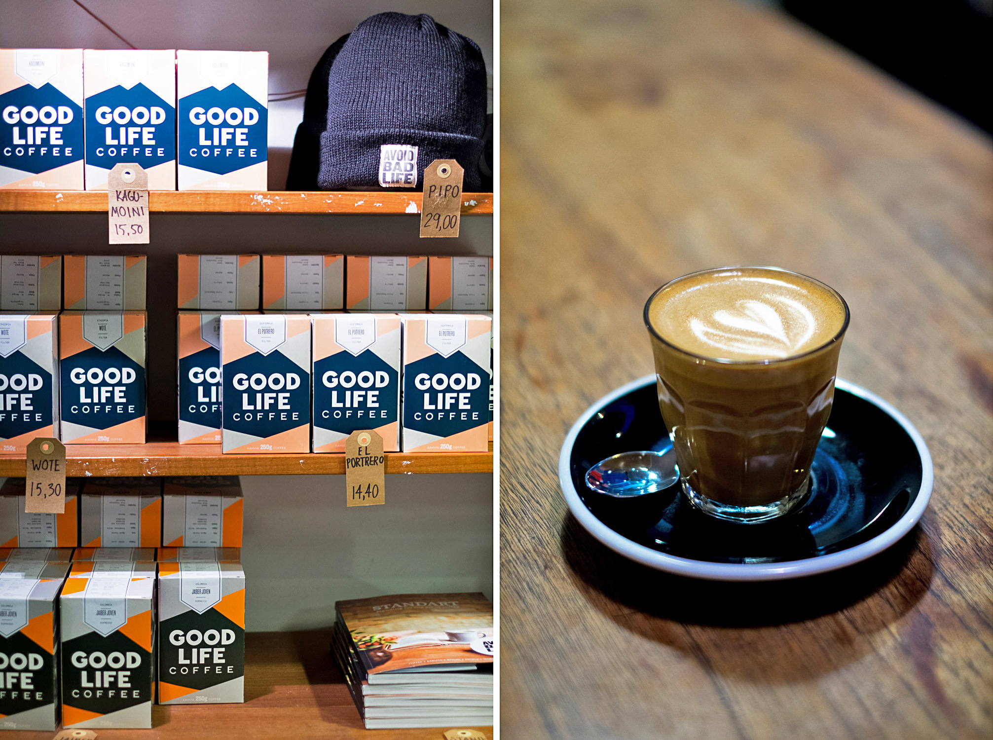The Good Life Coffee Roasters / Helsinki: A Two-Day City Guide to The Finnish Capital