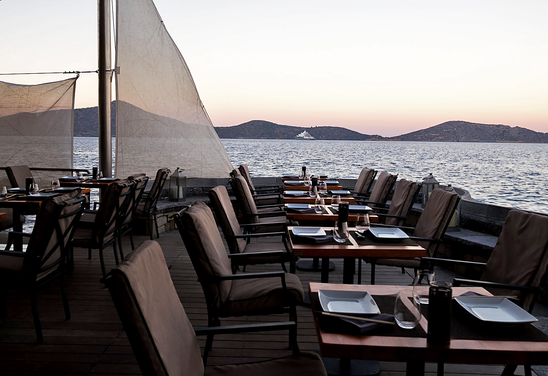 Koh - Dining at Elounda Peninsula All Suite Hotel in Crete