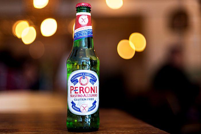 Gluten Free Peroni Nastro Azzurro Beer