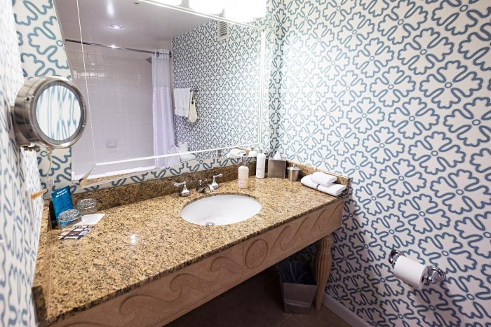 The Premier Room Bathroom - A Boutique Stay at Kimpton Monaco Hotel in Seattle