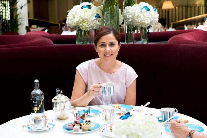 The Sophia Webster Social Butterflies Afternoon Tea: a limited edition summer menu at The Georgian restaurant in Harrods