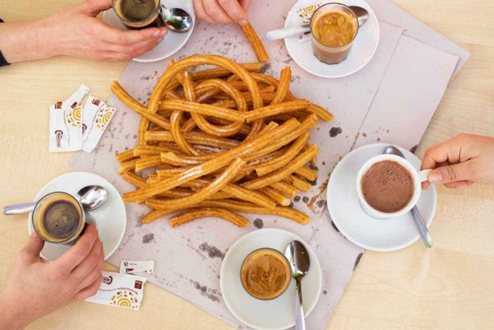 Churros, coffee and chocolate in Andalucia, Spain | How to spend a weekend in Malaga guide #mondomulia